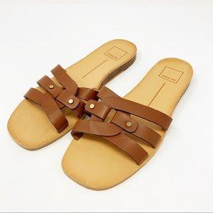 Dolce Vita Cait Sandals Tan Leather 8.5